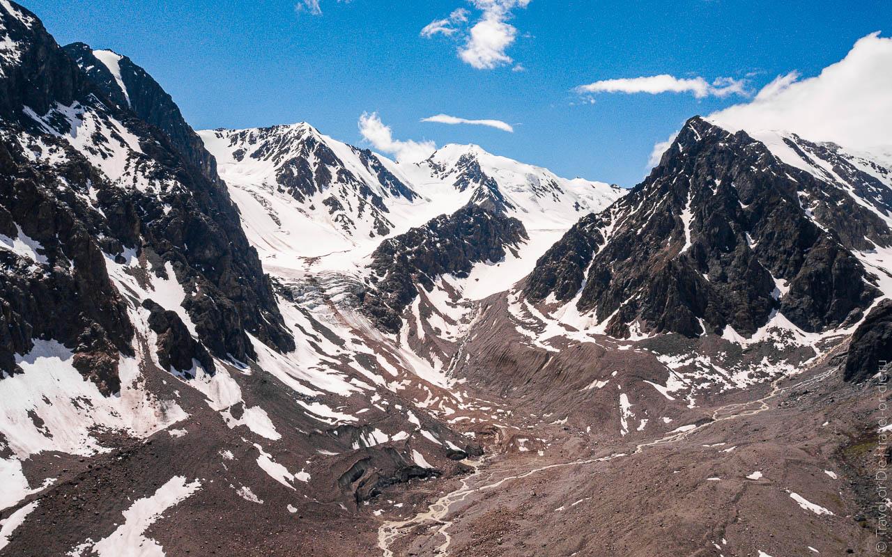 достопримечательности горного алтая ледник актру-0553