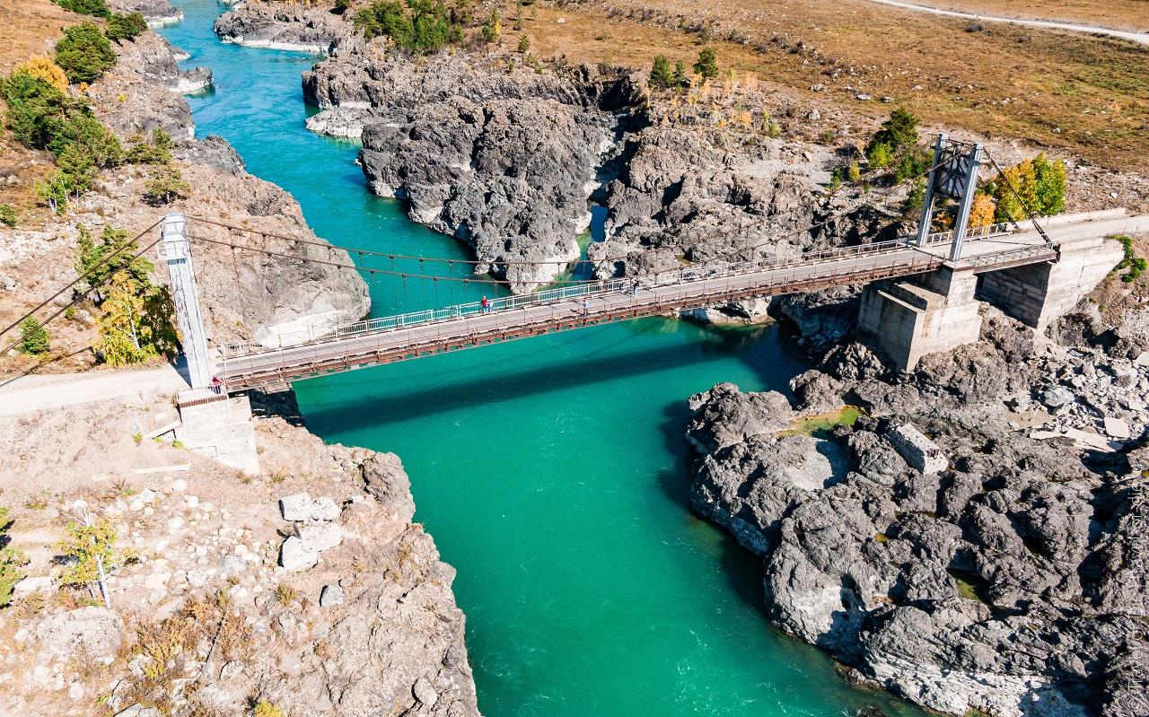 Ороктойский мост, Горный Алтай как доехать, фото, на карте