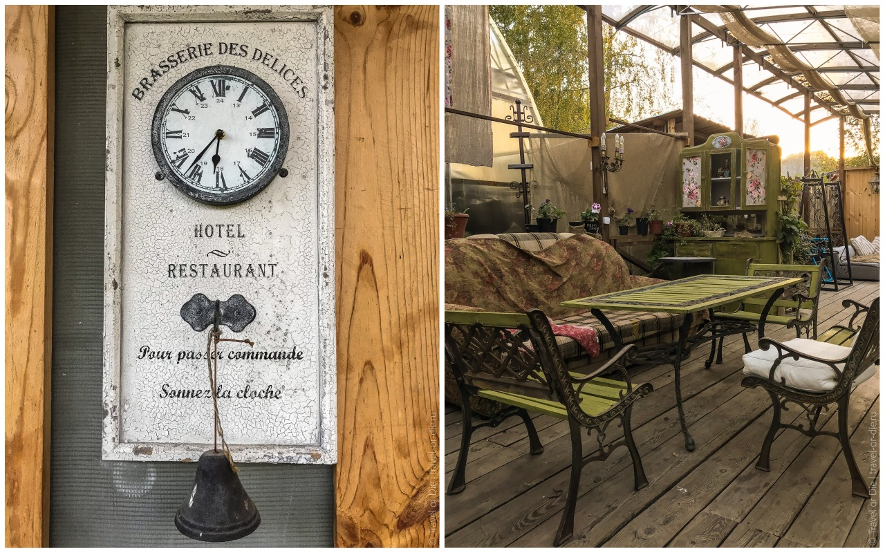 гостевой дом сад пионов летняя терраса ресторана
