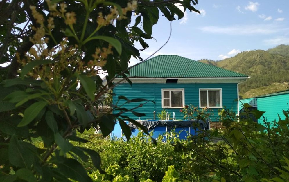 лучшие базы чемала - Усадьба Зеленый дом