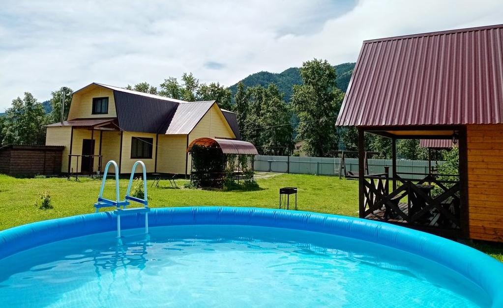 лучшие базы чемала с бассейном - Усадьба На Чемальской
