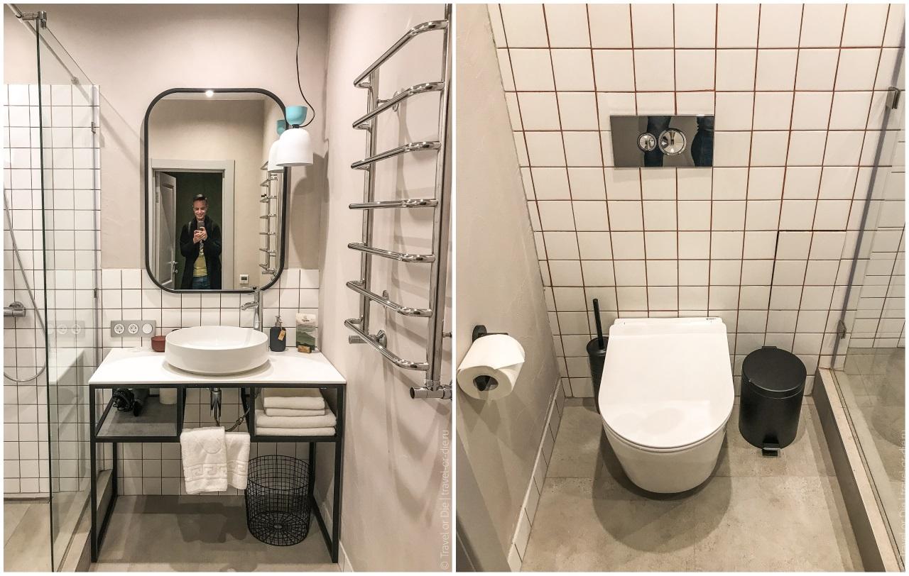 отель клевер резорт ванная комната