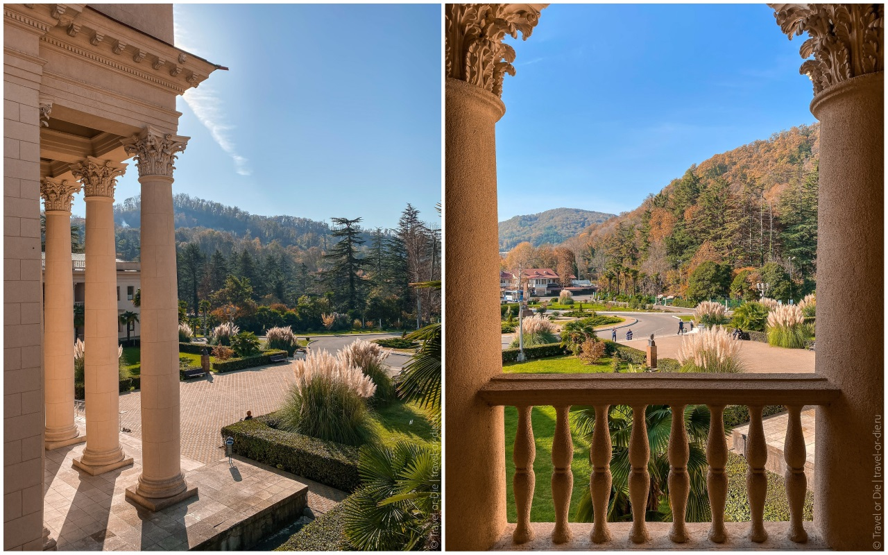 Бальнеологический курорт Мацеста фото с балкона
