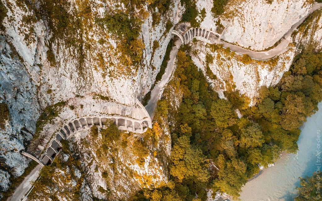 Достопримечательности рядом с Сочи - Старая дорога на Красную Поляну