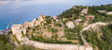 Крепость в Алании, Турция история, фото, экскурсии