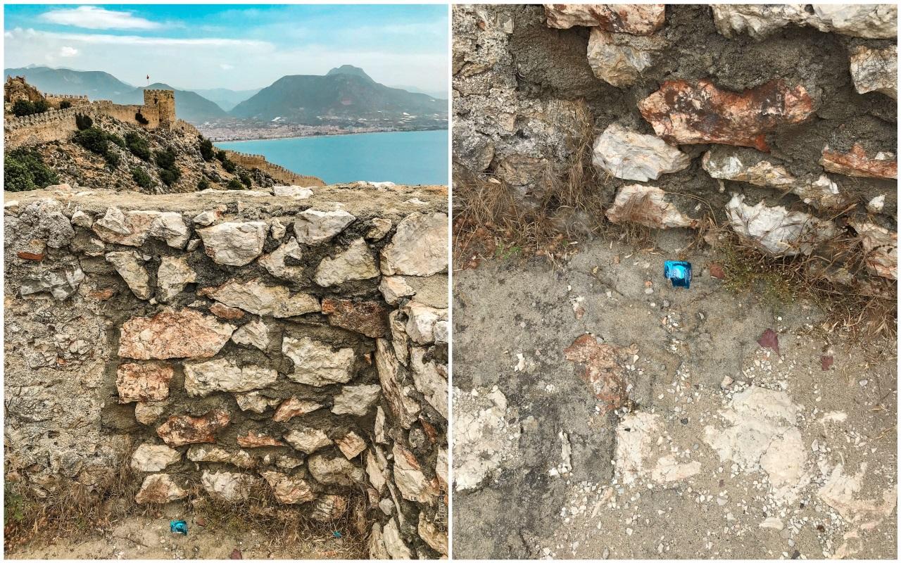 Крепость в Алании крепостные стены