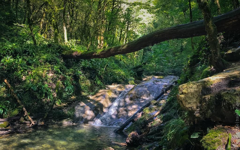 Природные достопримечательности Сочи - 33 Водопада