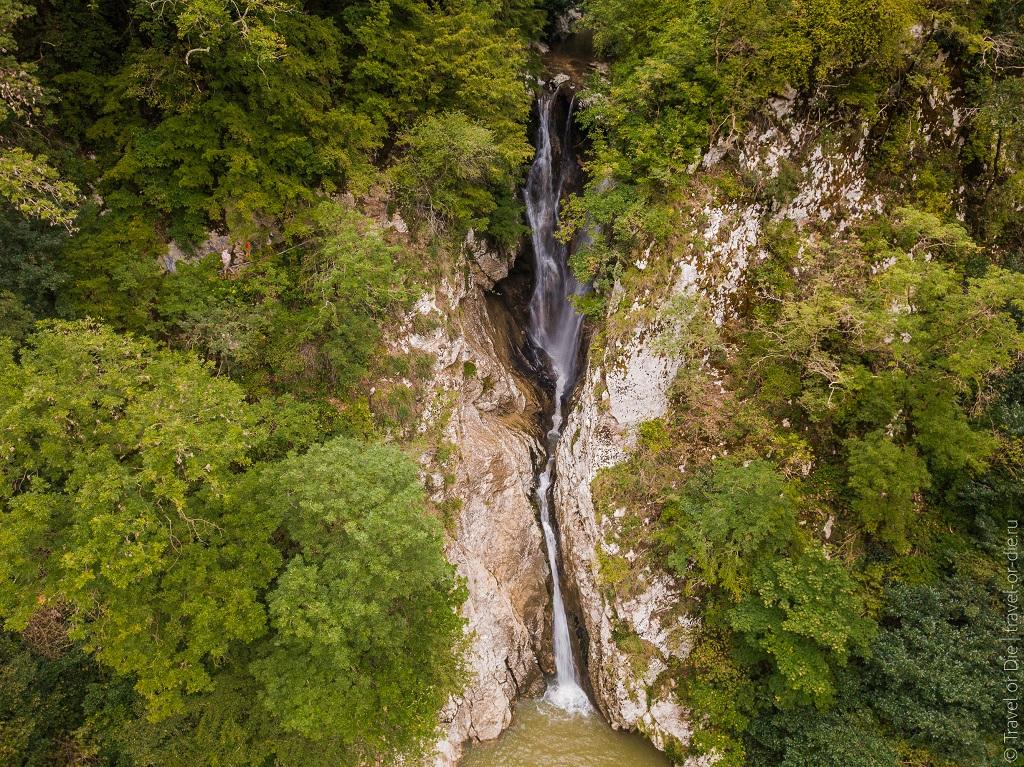 Природные достопримечательности Сочи - Агурские водопады