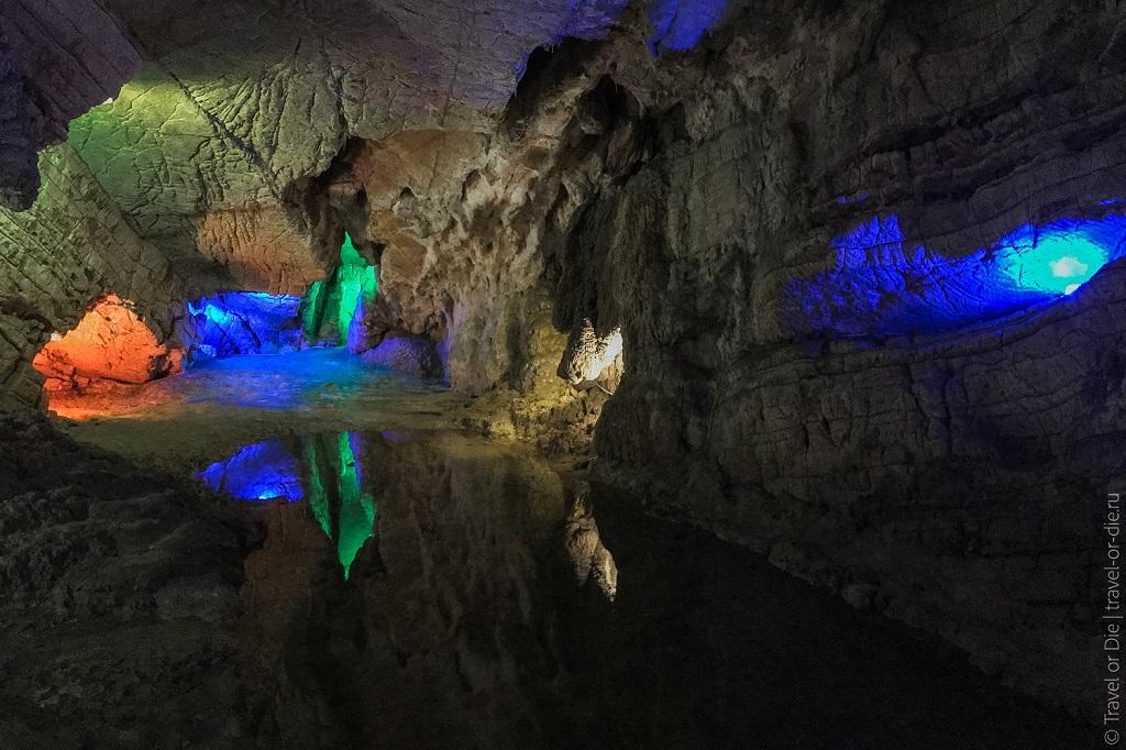Природные достопримечательности Сочи - Воронцовские пещеры