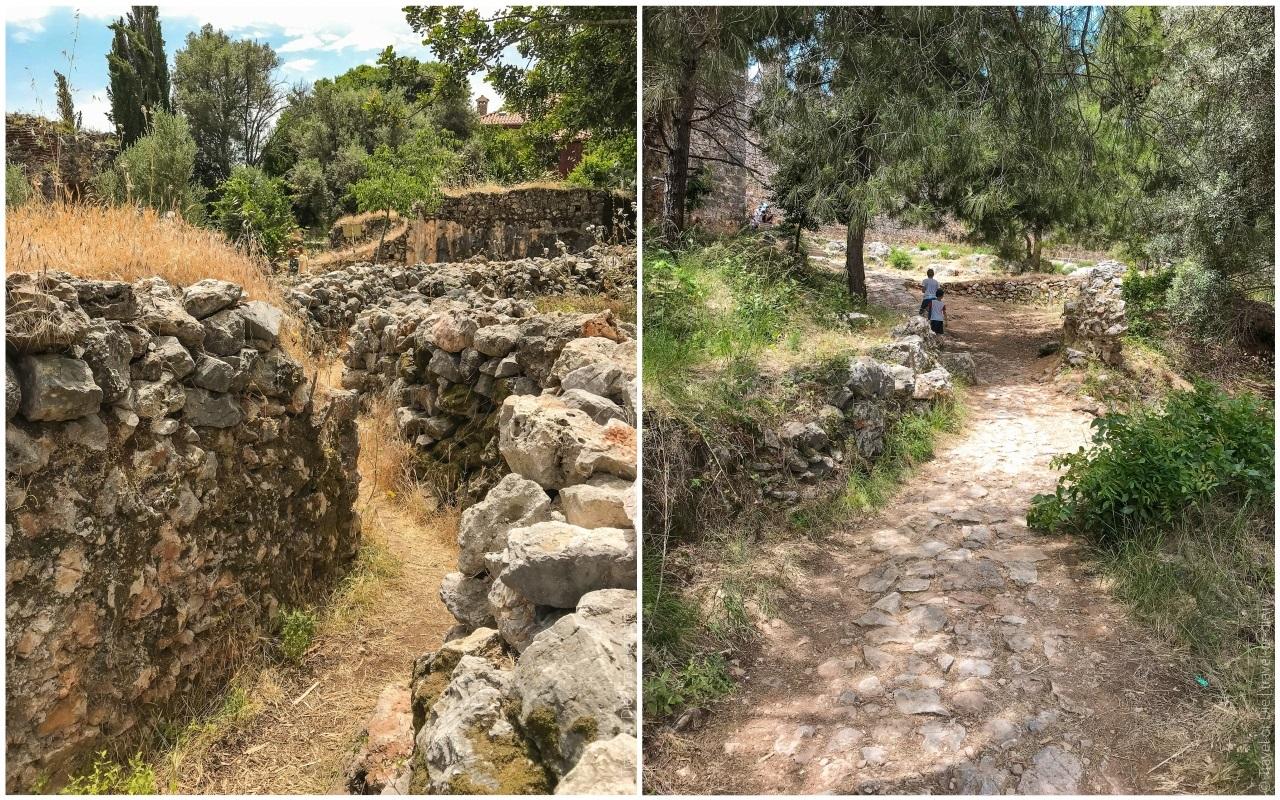 крепость алании дорога к цитадели