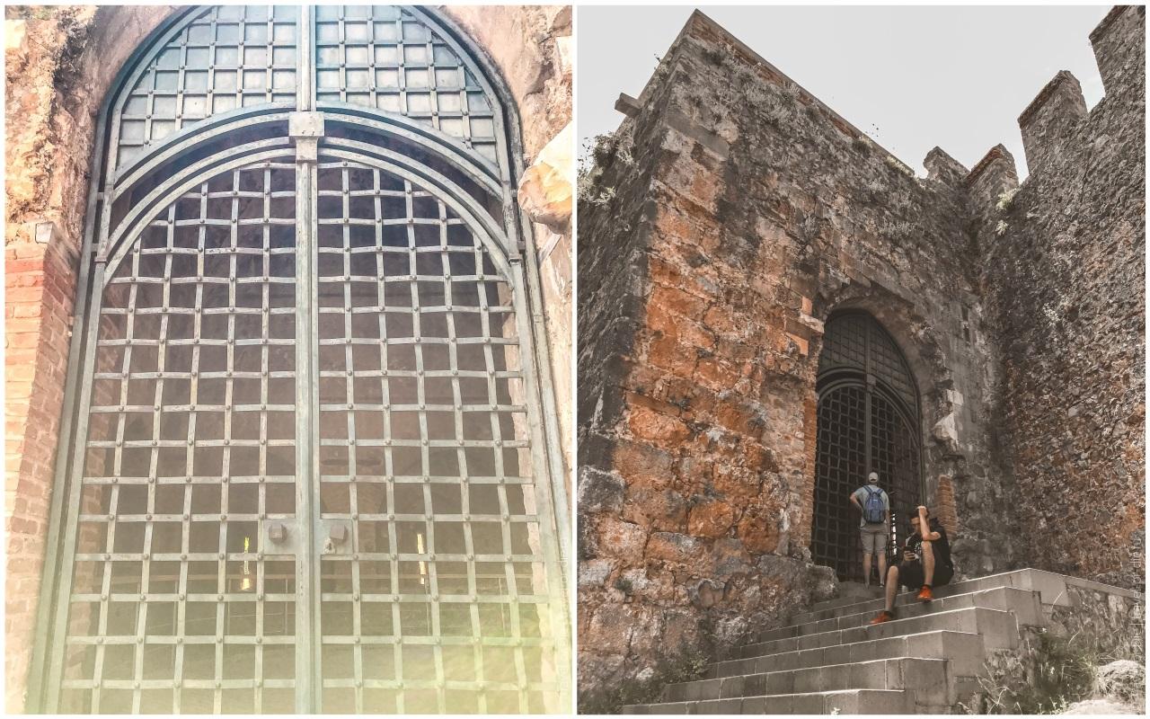крепость алании вход в ич кале