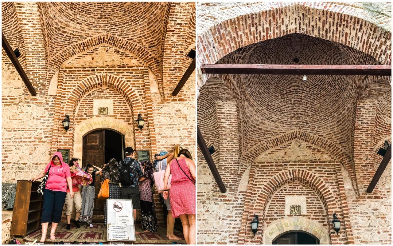 мечеть сулеймание алания вход крепость аланья