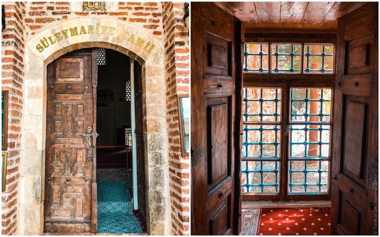 мечеть сулеймание аланья двери ставни