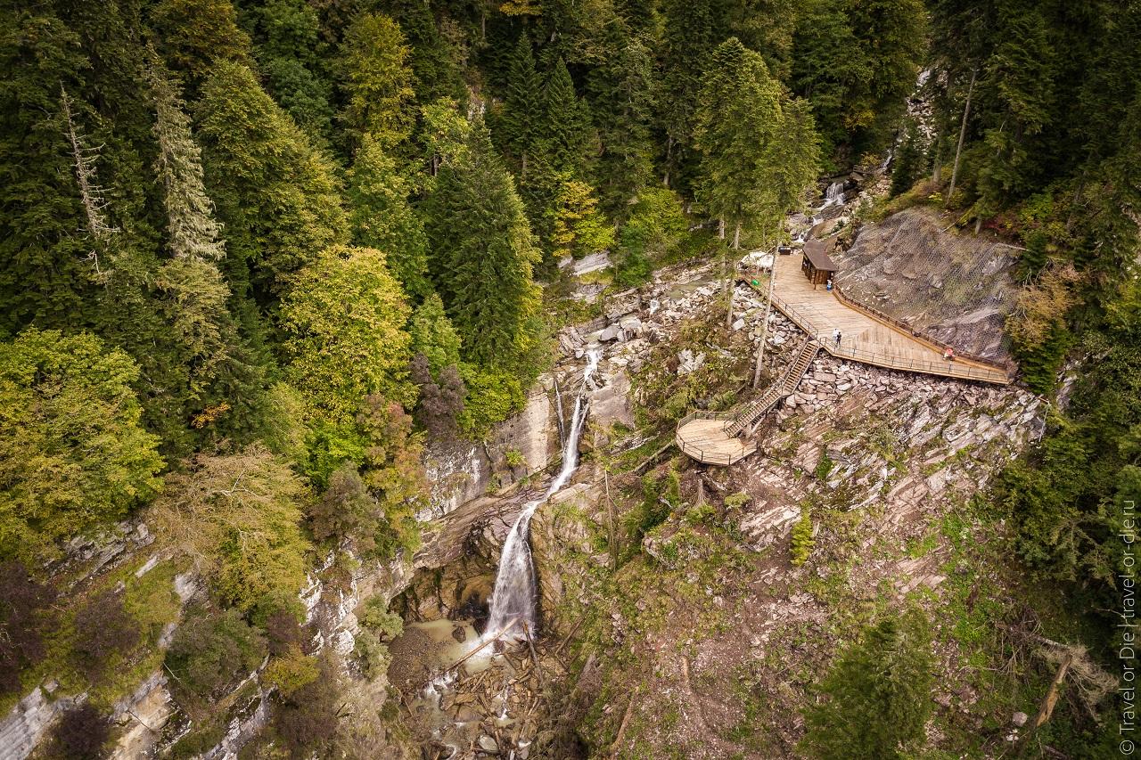 парк водопадов менделиха фото