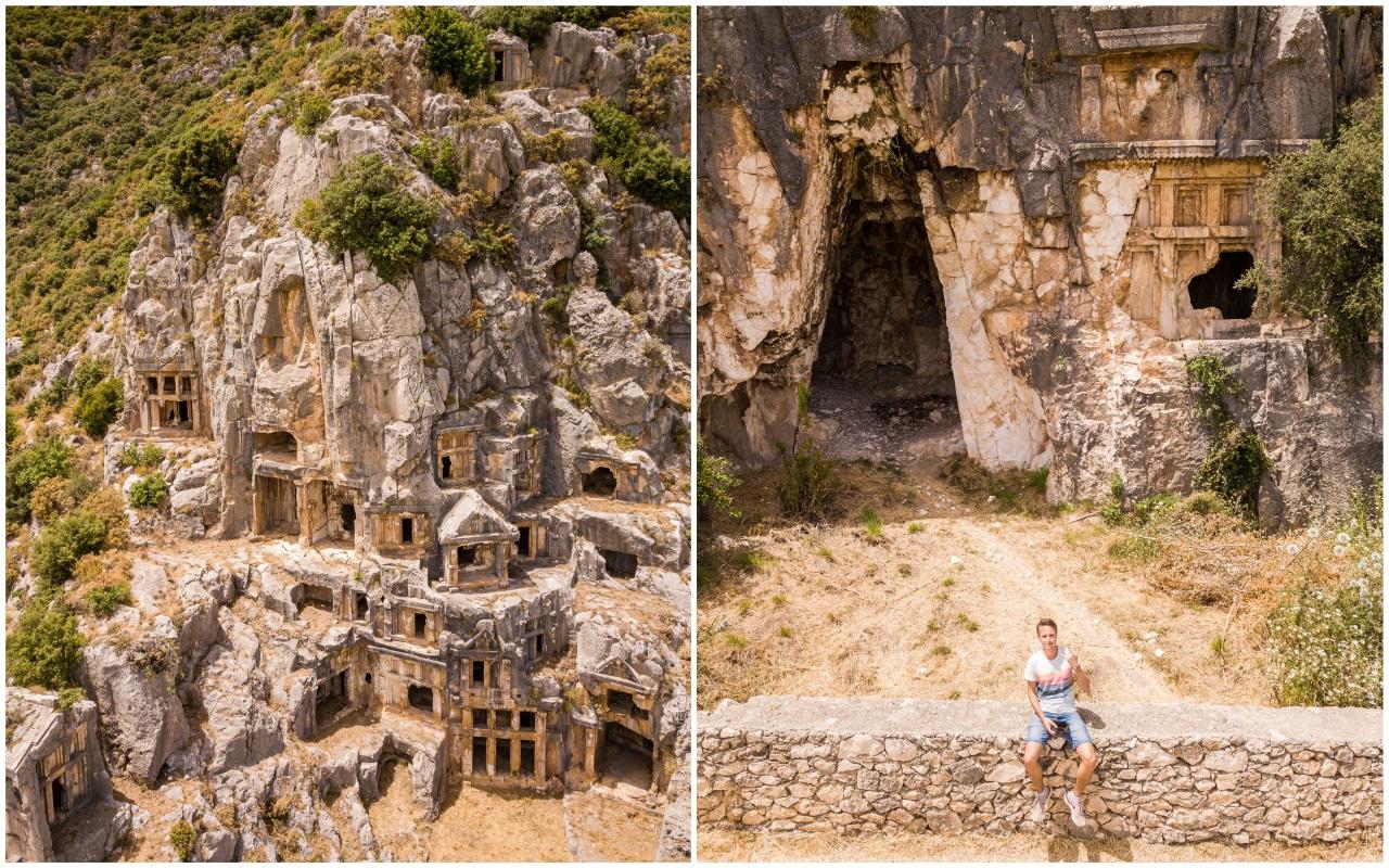 гробницы в мира экскурсия кекова демре