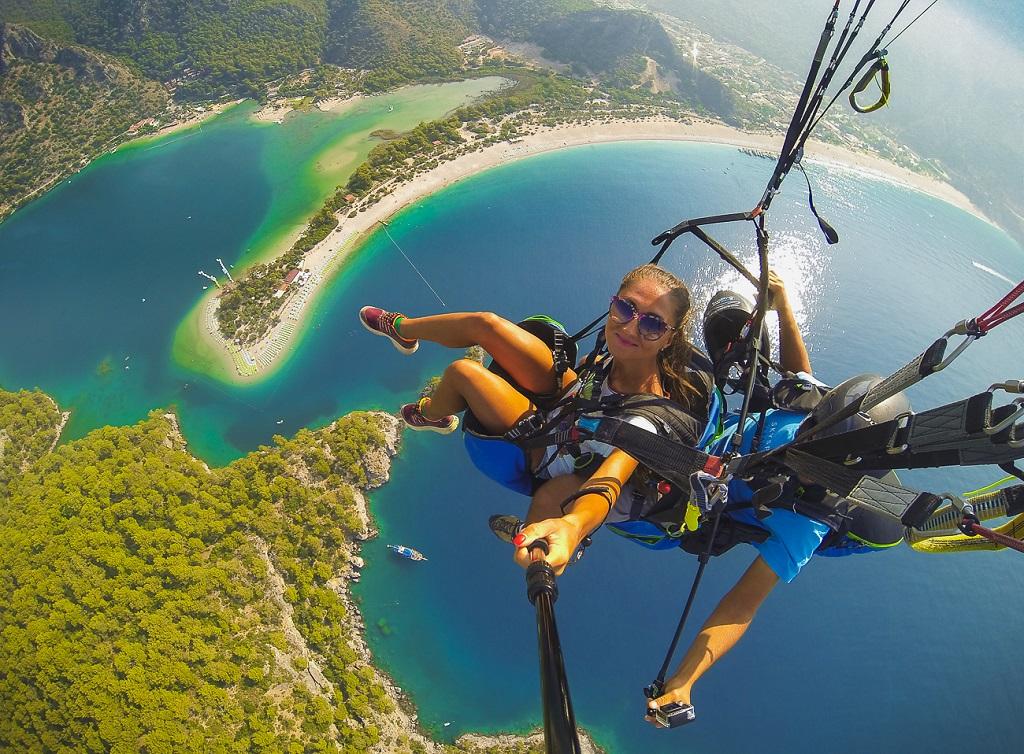 лучшие экскурсии в турции Параглайдинг в Турции