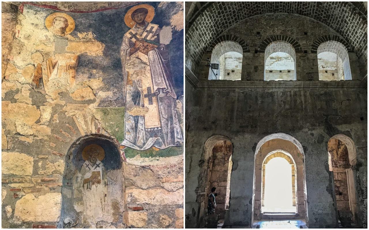 внутри храма святого николая в демре экскурсия кекова мира