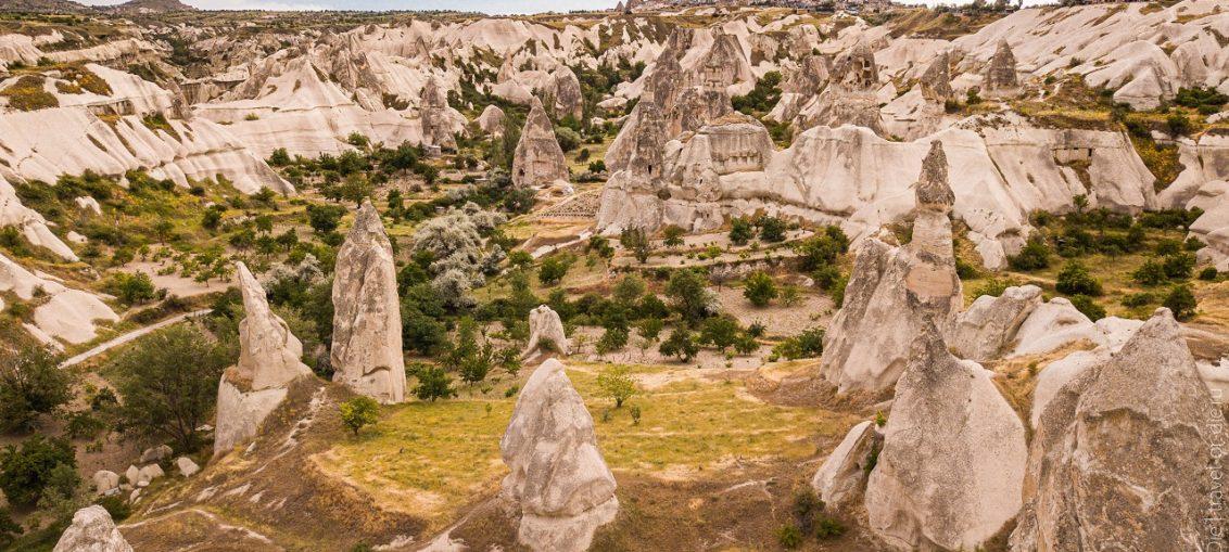 Долина Голубей, Каппадокия, Турция как добраться, маршруты, фото
