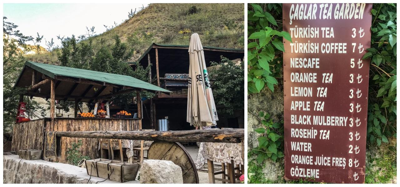кафе и рестораны в долине голубей