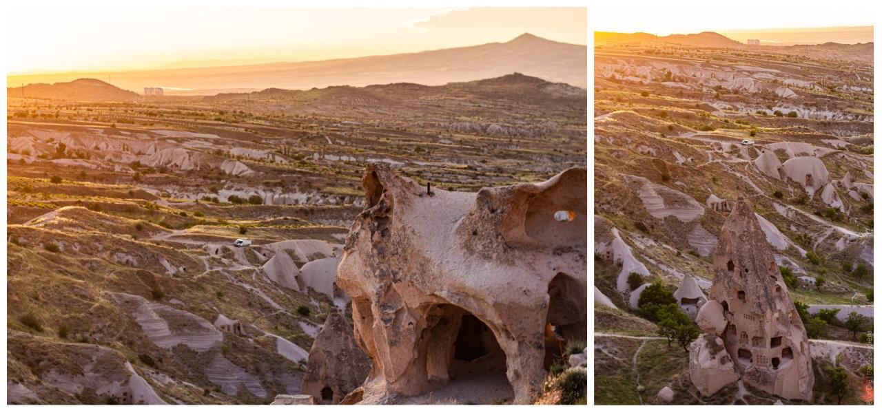 крепость учхисар каппадокия местность вокруг