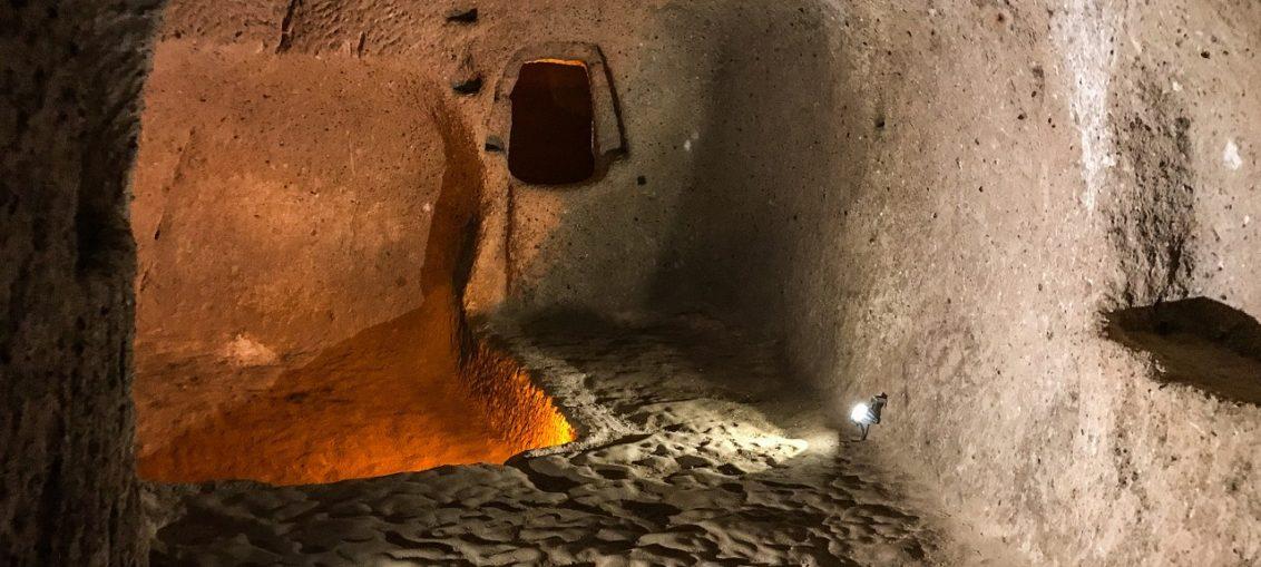 Подземный город Каймаклы Каппадокия Турция