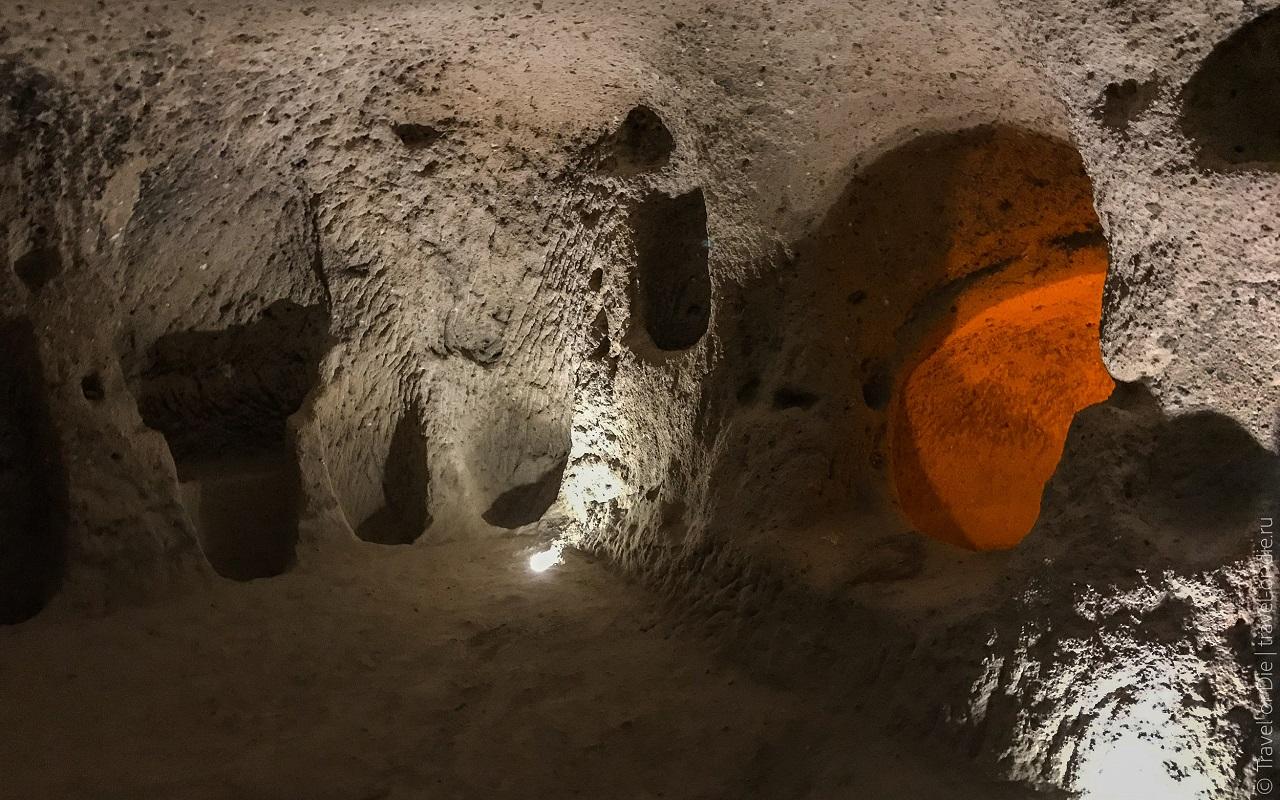 достопримечательности каппадокии подземный город каймаклы