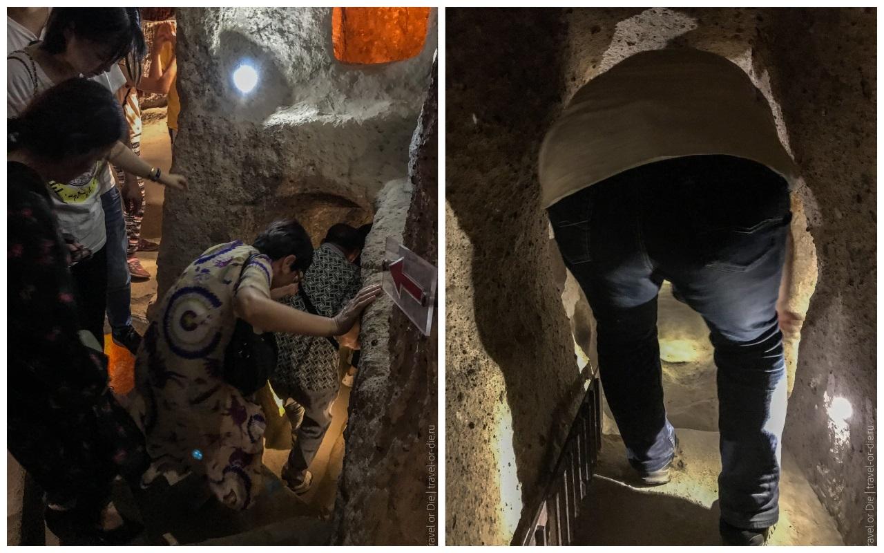 каймаклы внутри подземного города 2