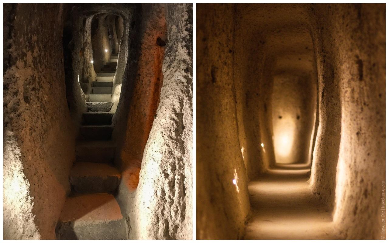 подземный город каймаклы турция фото