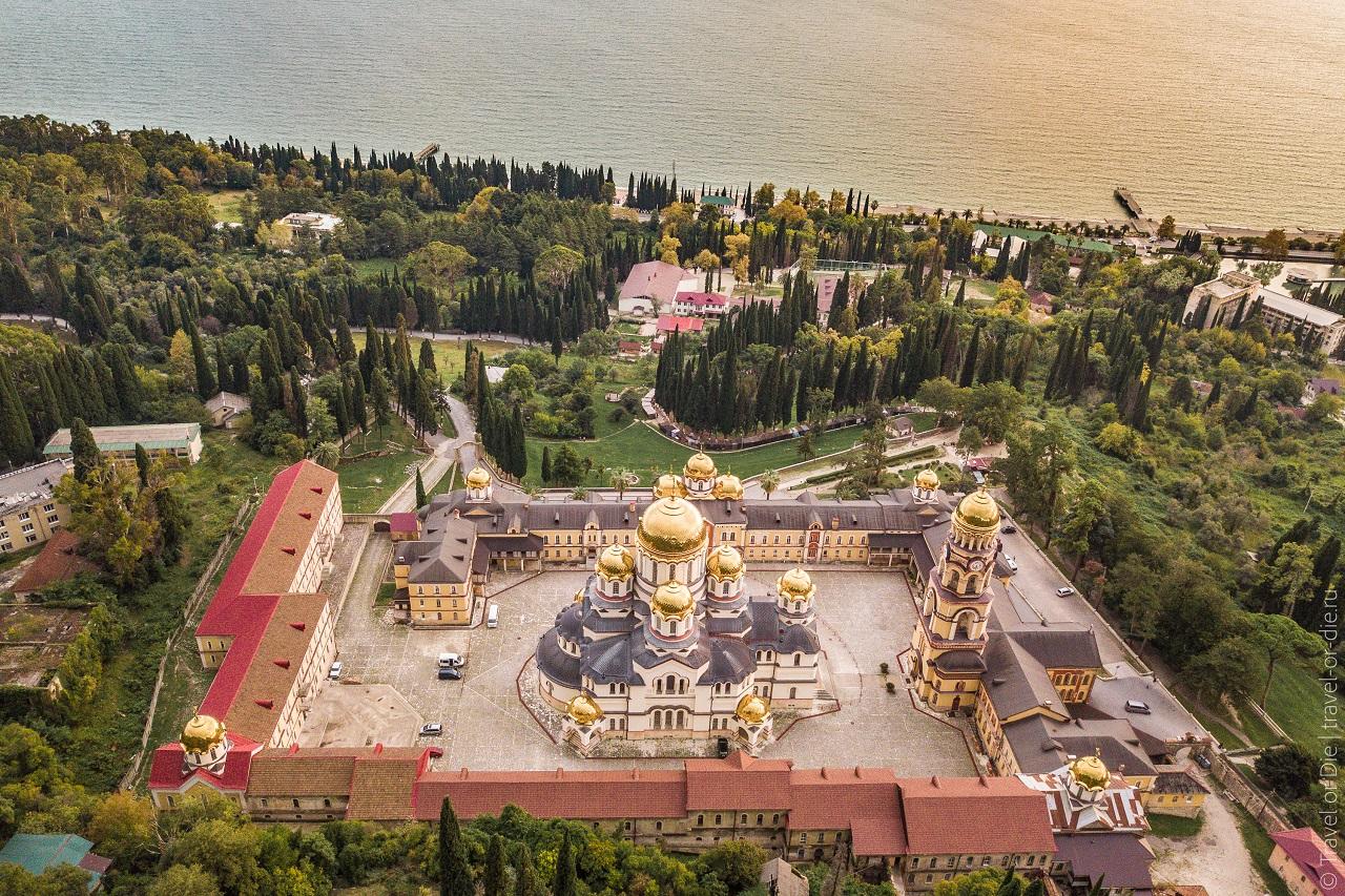 Экскурсия в Новоафонский монастырь (Абхазия) из Сочи и Адлера цены и описание