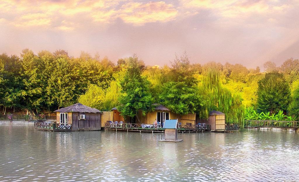 Достопримечательности адлера - Ачигварское озеро
