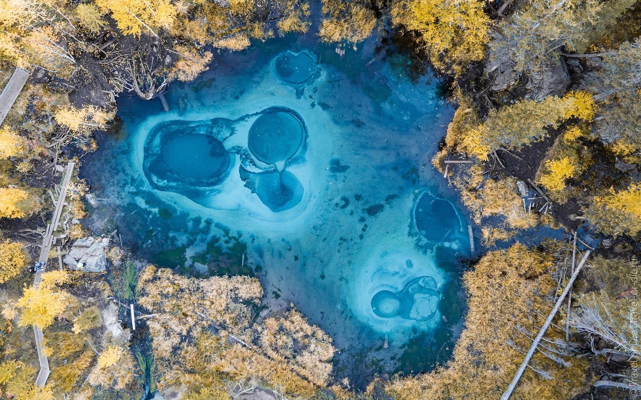 Гейзерное озеро в Горном Алтае (село Акташ) как добраться на машине, фото, расстояние
