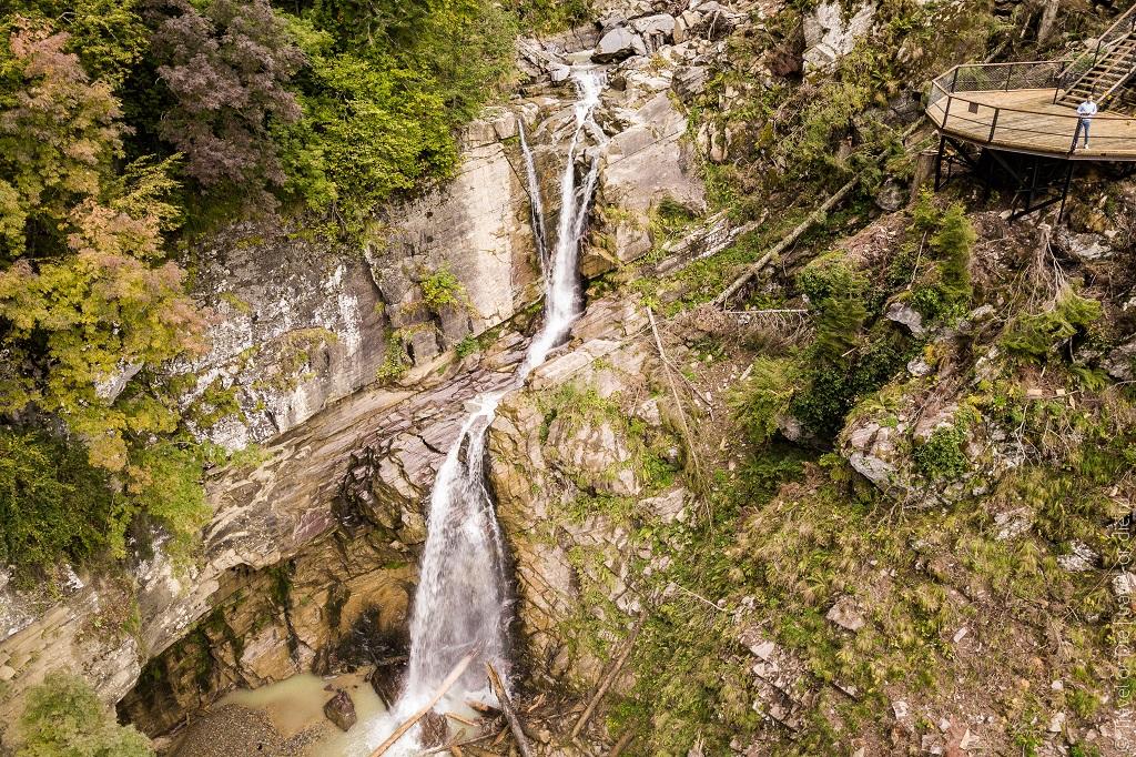 Природные достопримечательности Адлера и окрестностей - парк водопадов менделиха