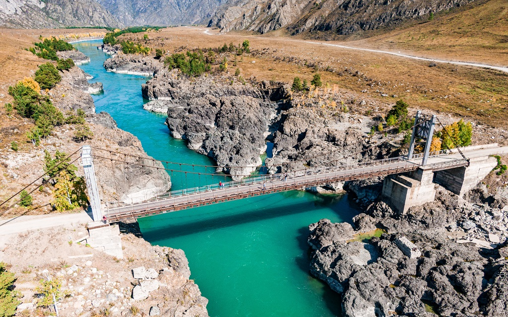 достопримечательности горного алтая ороктойский мост