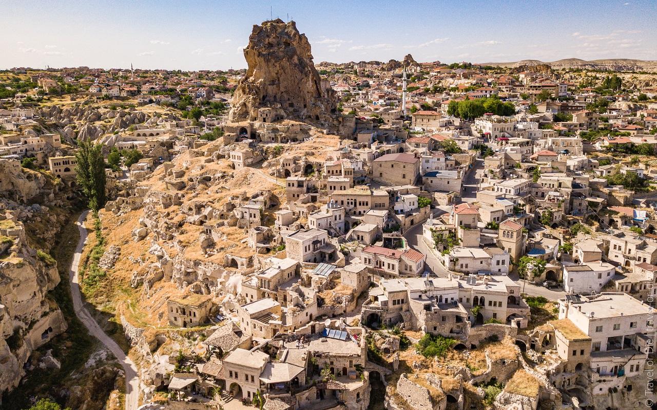 достопримечательности каппадокии крепость ортахисар