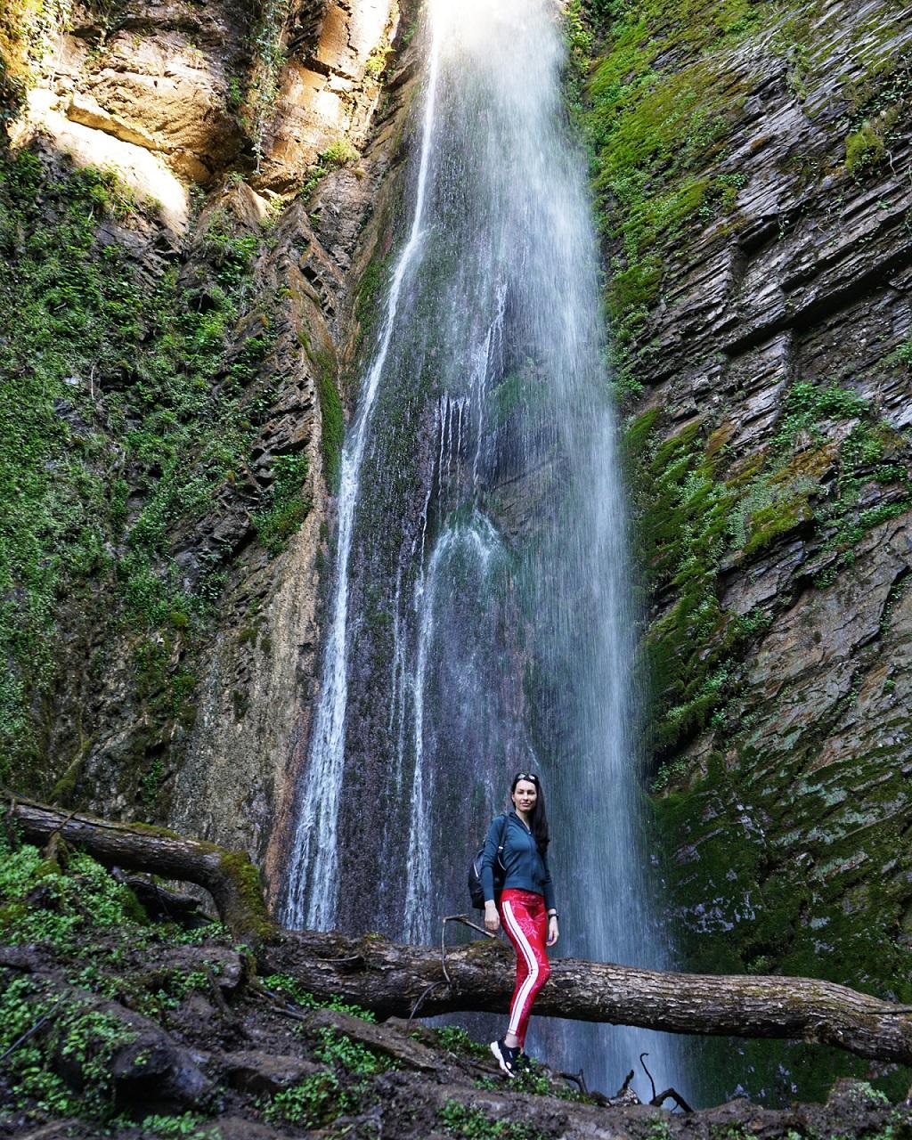 фотосессии в сочи - Водопад Хрустальный