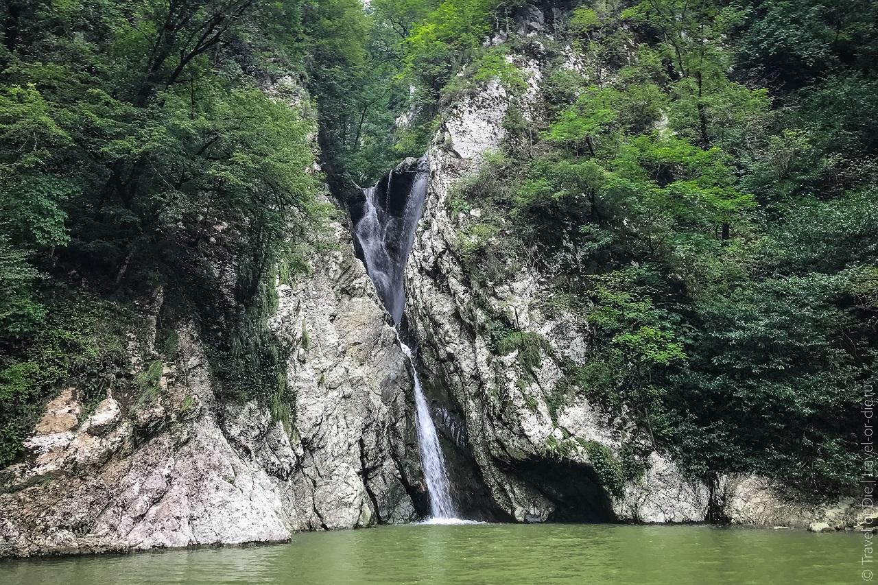 фотосессии в сочи - агурские водопады