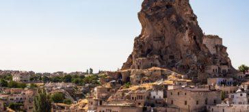крепость ортахисар каппадокия турция