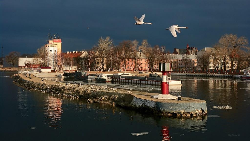 Экскурсия из Калининграда в Балтийск - Набережная Балтийска
