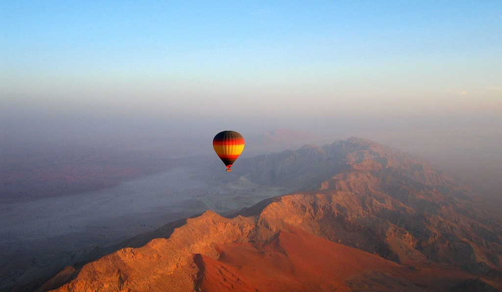 Отзывы о воздушных шарах в Дубае