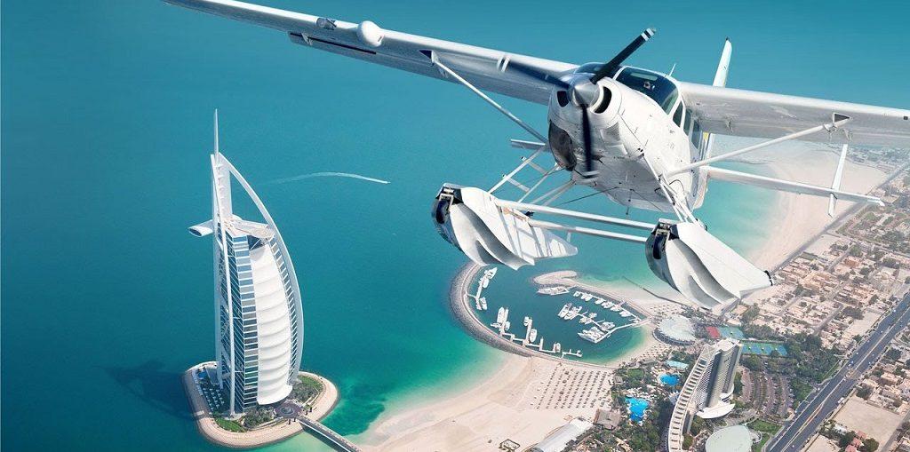 Полёт на гидроплане в Дубае цены, отзывы