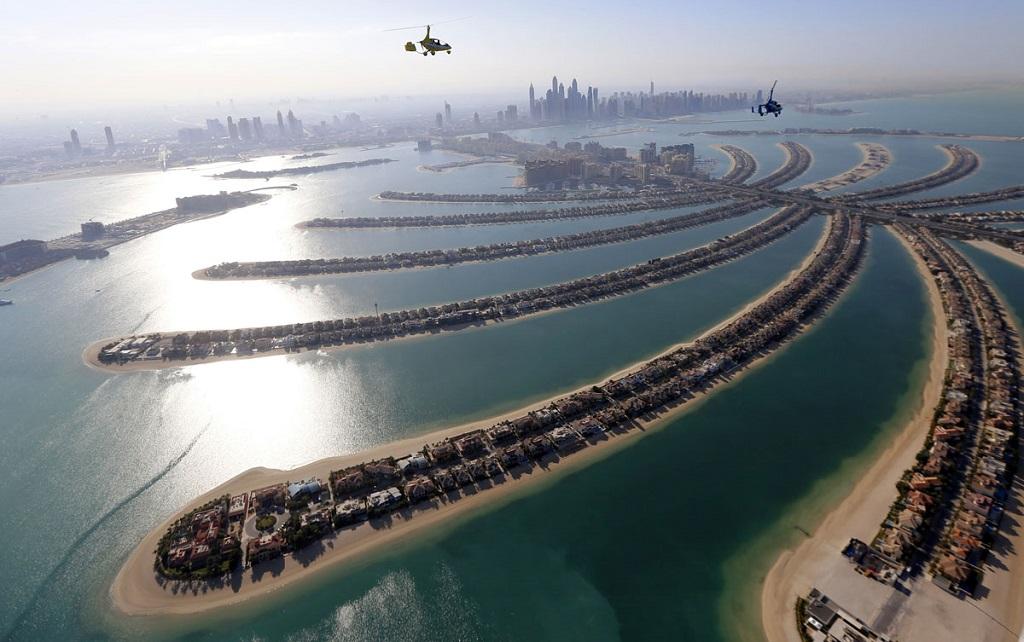 Сколько стоит полёт на автожире в Дубае