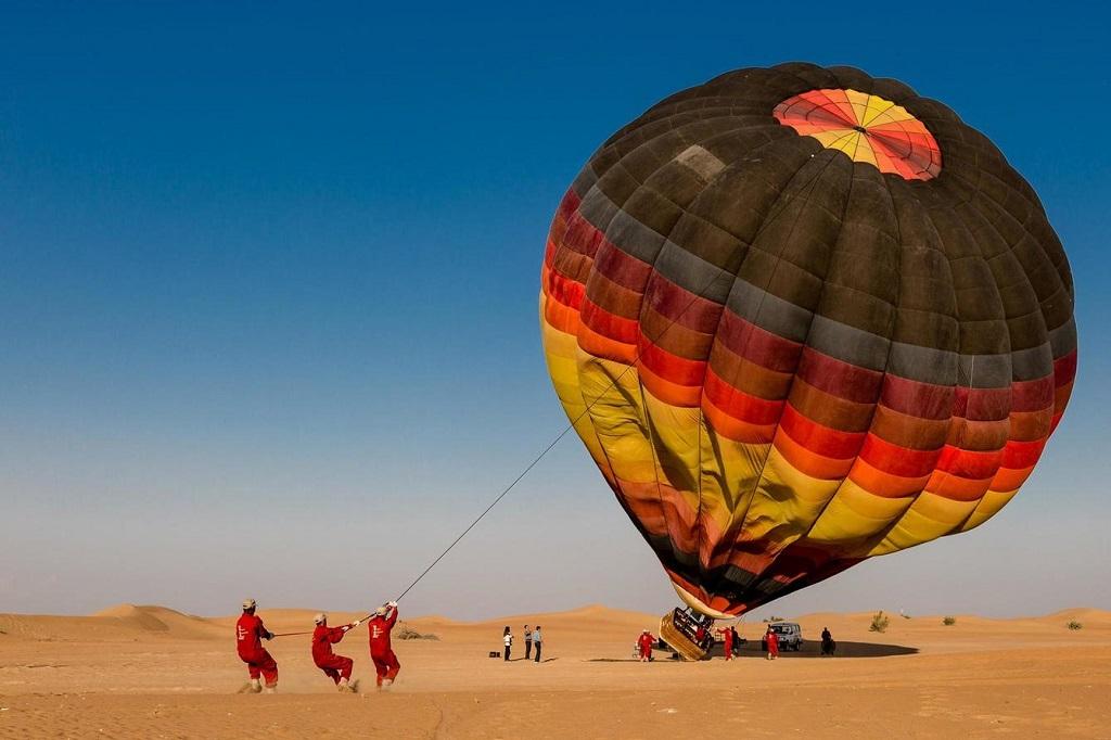 Сколько стоит полёт на воздушном шаре в Дубае