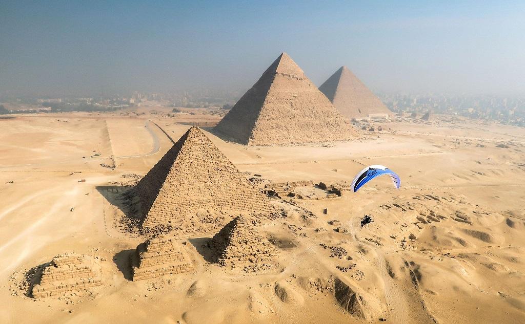 Экскурсии из Хургады на пирамиды на самолёте (1 и 2 дня)