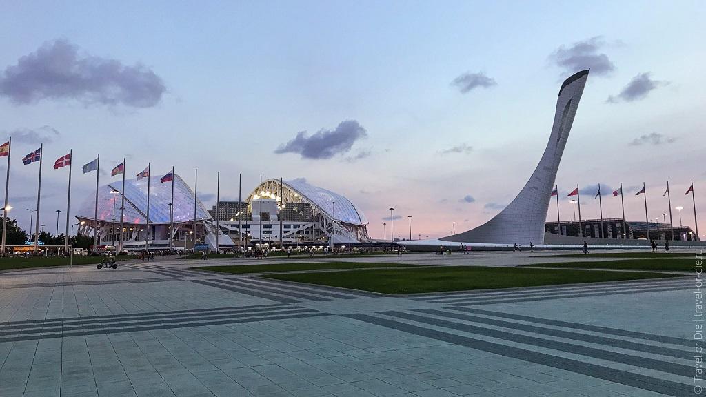 Экскурсии только по Олимпийскому Парку