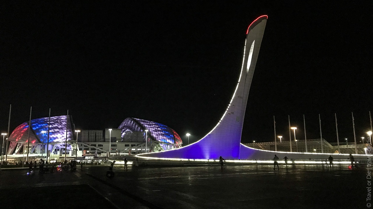 Необычные экскурсии по Олимпийскому Сочи