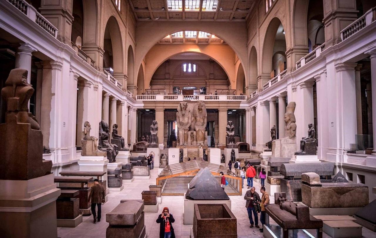 достопримечательности каира - Египетский музей