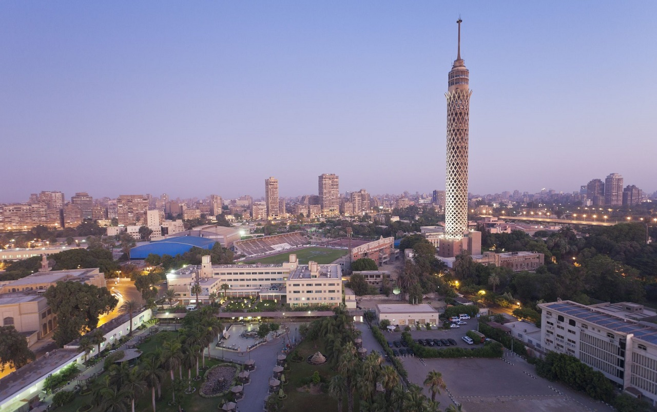 достопримечательности каира - Каирская телебашня и ее смотровая