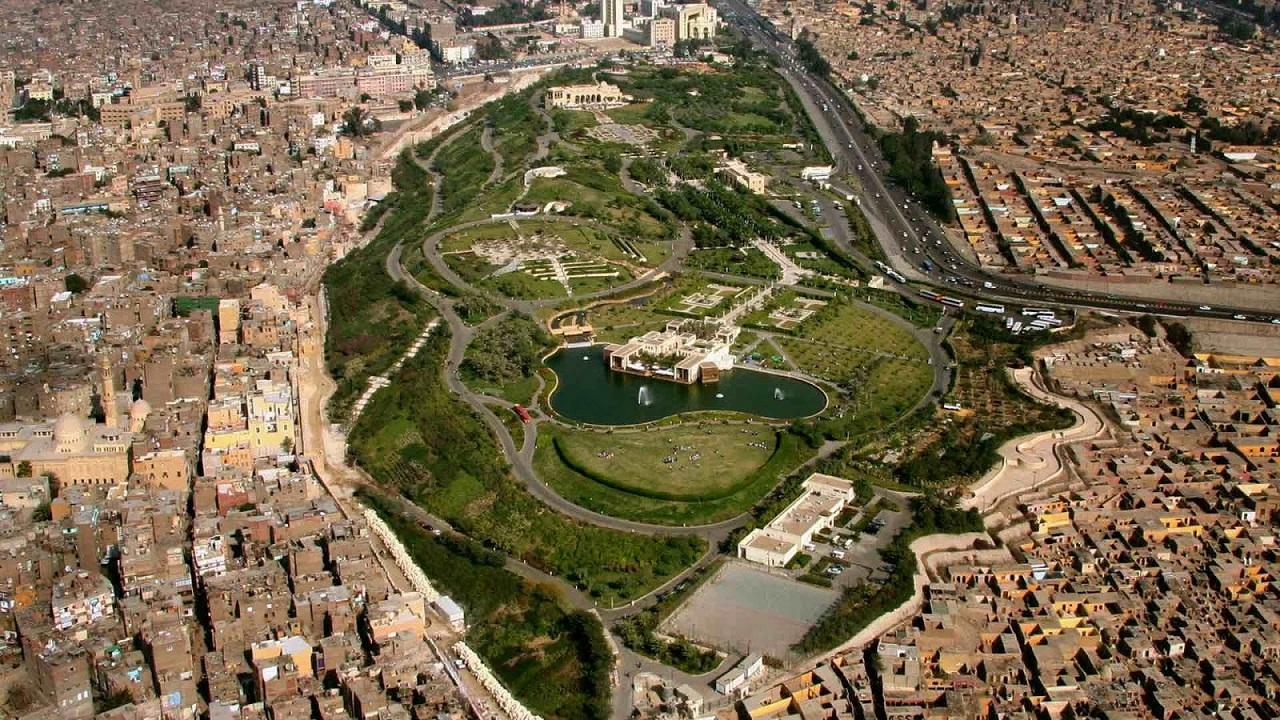достопримечательности каира - Парк Аль-Ажар