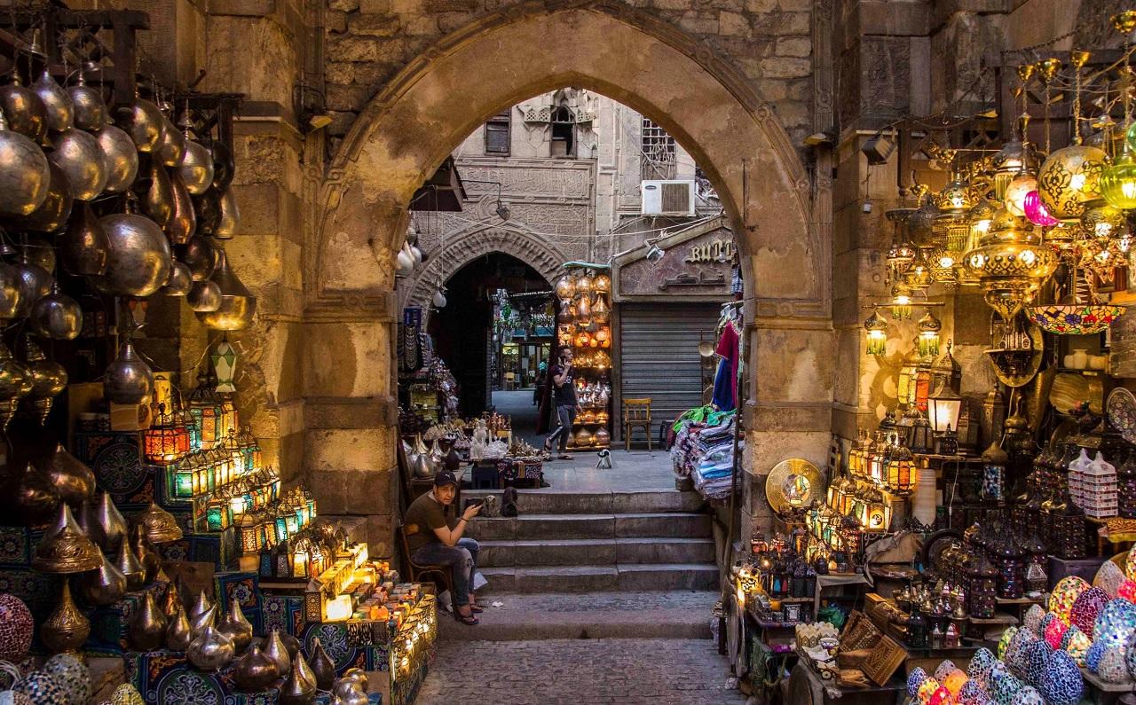 достопримечательности каира - Рынок Хан-Эль-Халили