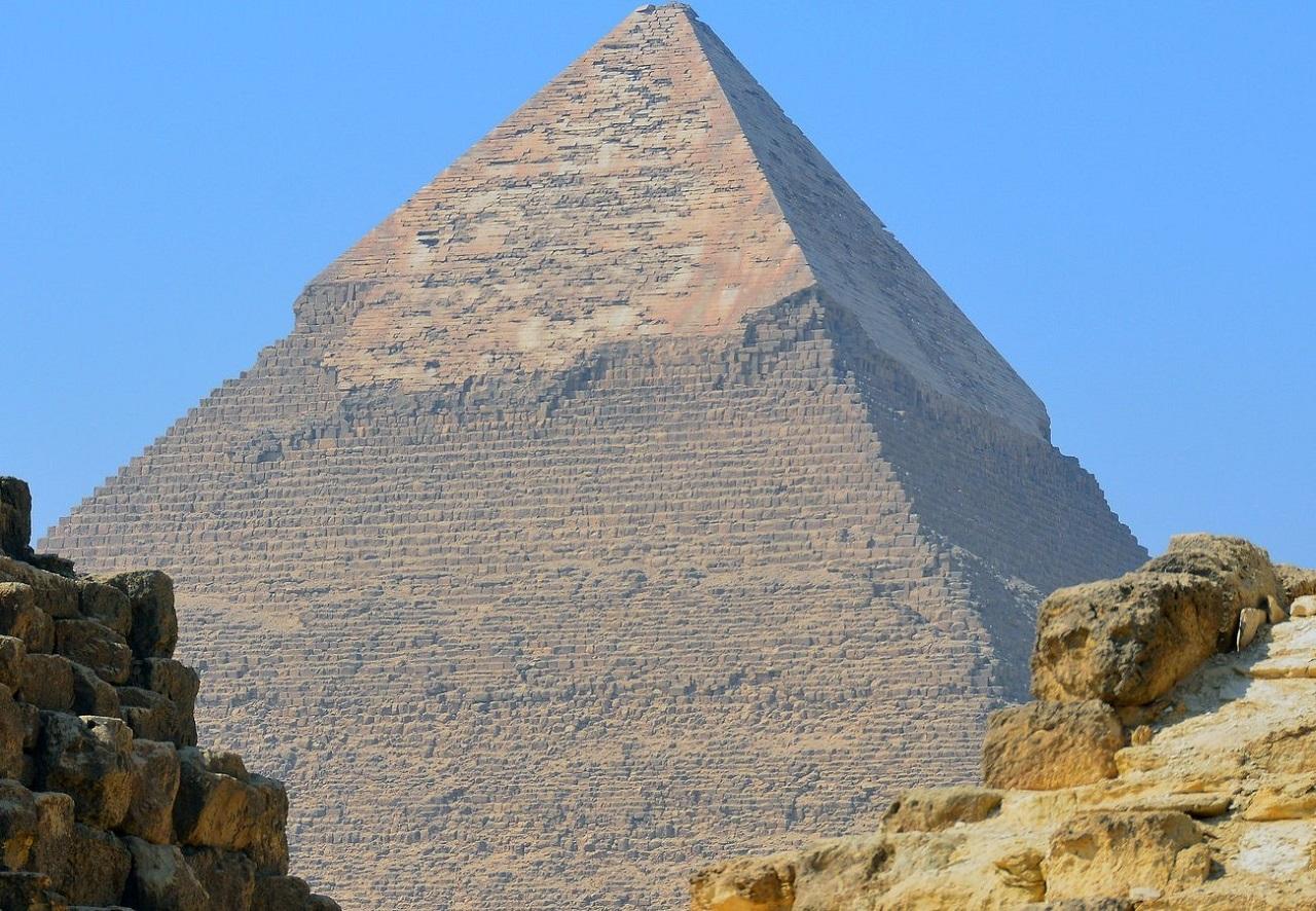 достопримечательности рядом с каиром - Пирамида Хефрена